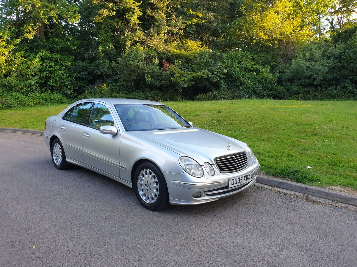 2005 Bargain £895.. Mercedes E270 CDi Avantgarde.. SOLD (picture 1 of 6)