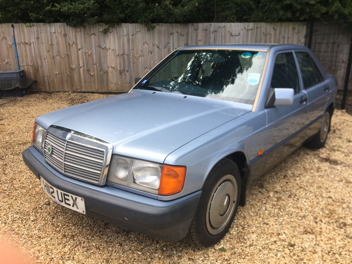 1991 Mercedes 190E 2.0 Automatic Saloon  For Sale (picture 1 of 6)