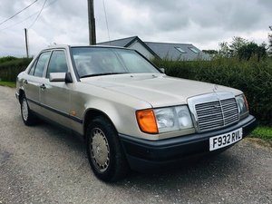 1989 Mercedes 300d auto 117k W124 For Sale