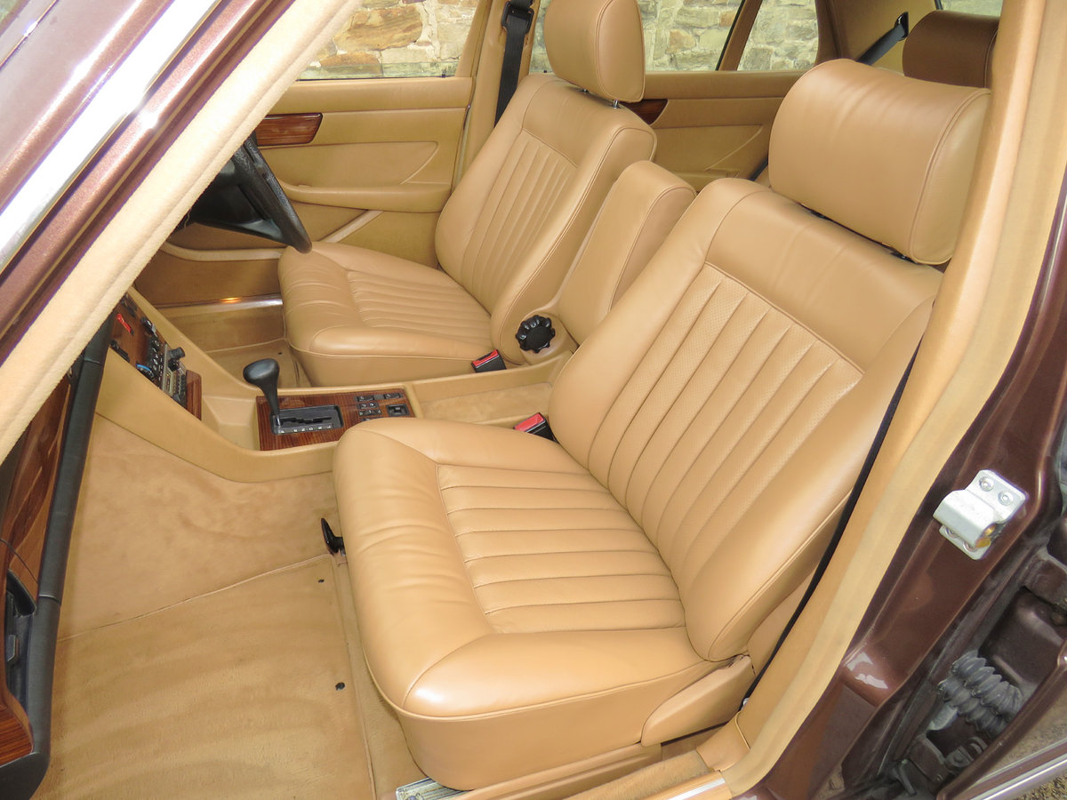 1981 Mercedes W126 500SEL - 1 P/Onr - 63K Miles - FMBSH 36 Stamps For Sale (picture 4 of 6)