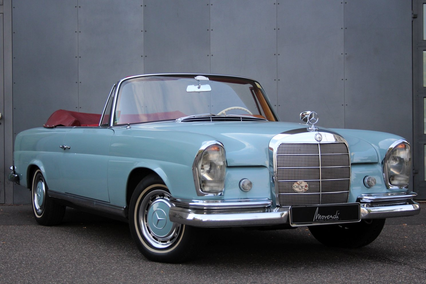 1972 Mercedes-Benz 220 SEB Cabriolet LHD For Sale (picture 1 of 6)