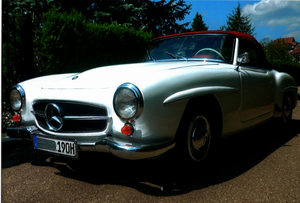 1957 Beautiful MB 190 SL convertible For Sale
