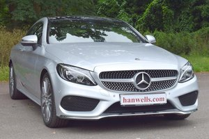2017 /67 Mercedes-Benz C220d AMG G-Tronic+ in Silver