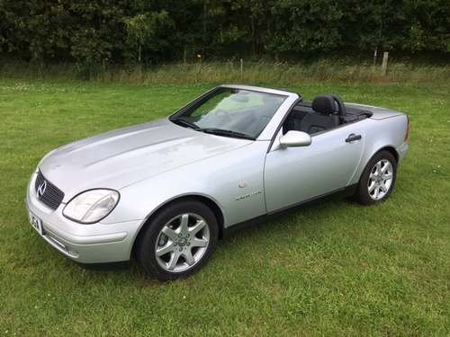 1999 Mercedes SLK230 Kompressor at Morris Leslie Auction 17th Aug SOLD by Auction (picture 1 of 6)
