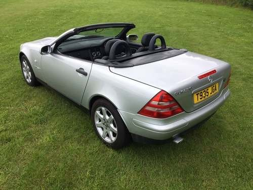 1999 Mercedes SLK230 Kompressor at Morris Leslie Auction 17th Aug SOLD by Auction (picture 2 of 6)