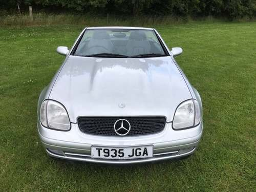 1999 Mercedes SLK230 Kompressor at Morris Leslie Auction 17th Aug SOLD by Auction (picture 3 of 6)