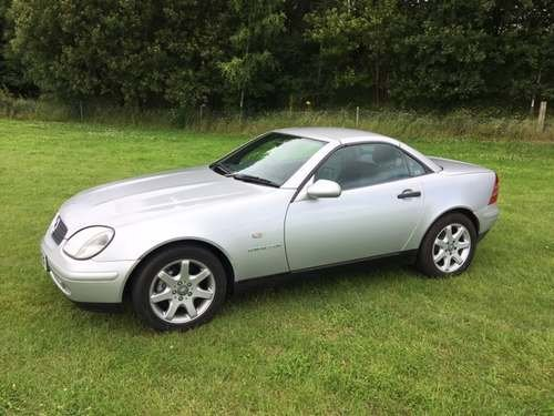 1999 Mercedes SLK230 Kompressor at Morris Leslie Auction 17th Aug SOLD by Auction (picture 4 of 6)