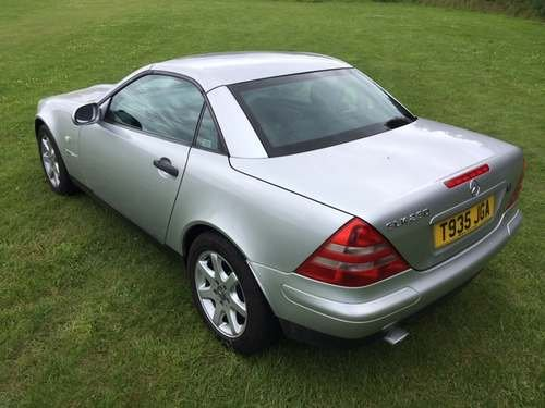 1999 Mercedes SLK230 Kompressor at Morris Leslie Auction 17th Aug SOLD by Auction (picture 5 of 6)