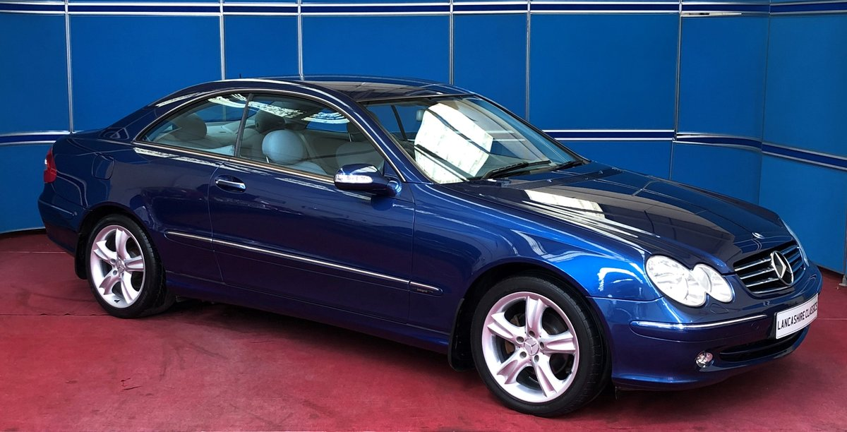 2005 Mercedes CLK200K Avantgarde  For Sale (picture 1 of 6)