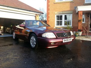1998 Mercedes SL320, R129, in excellent condition SOLD