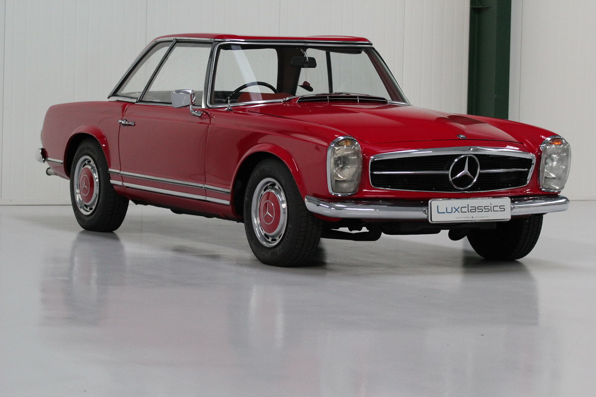 1967 Mercedes-Benz 250SL Right Hand Drive For Sale (picture 3 of 6)