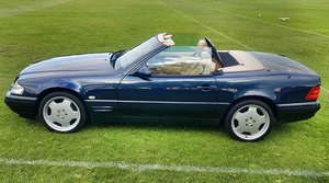 1999 Mercedes SL500 500SL panoramic roof