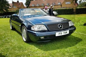 1999 Mercedes SL500 FMBSH. Low Miles and Owners SOLD