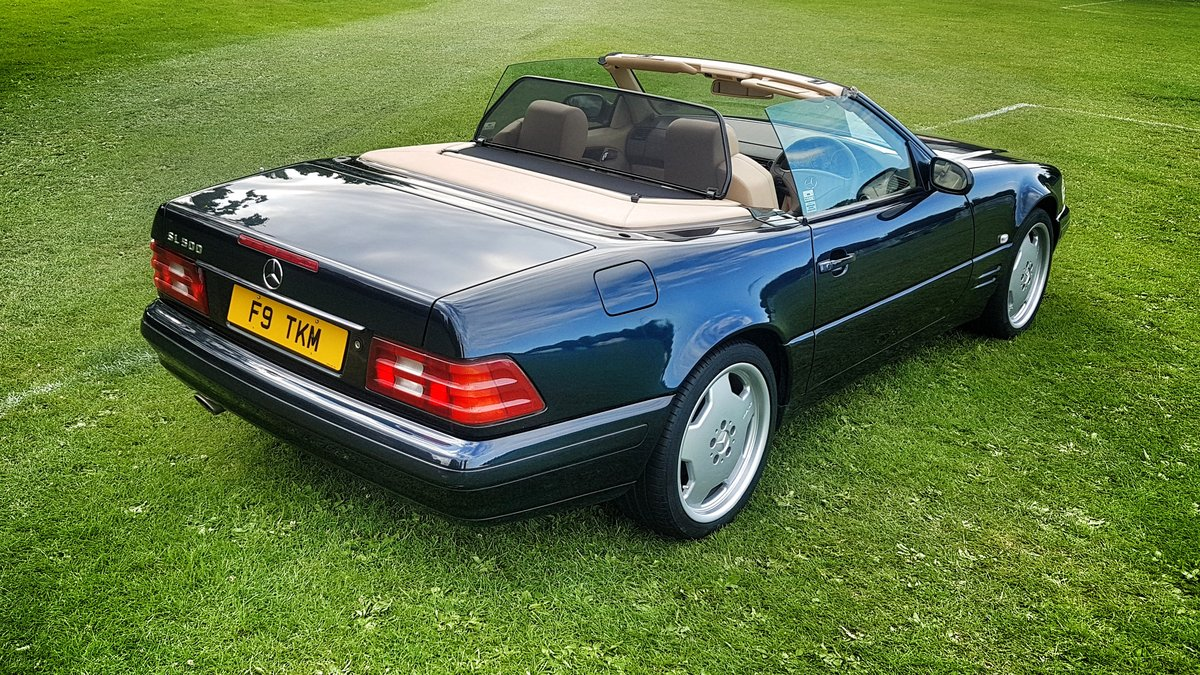 1999 Mercedes SL500 FMBSH. Low Miles and Owners For Sale (picture 2 of 6)