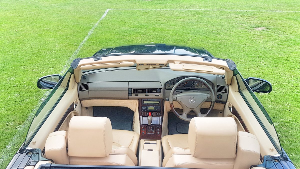 1999 Mercedes SL500 FMBSH. Low Miles and Owners For Sale (picture 3 of 6)