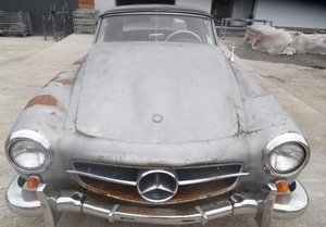 1958 Mercedes 190SL LHD EU SPEC PROJECT