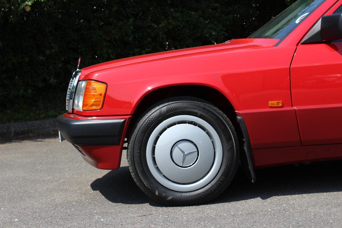 1992 MERCEDES BENZ 190 E AUTO SOLD (picture 2 of 6)