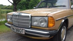 1979 MERCEDES 240D W123 SALOON ~ 'BULLET PROOF' ~EXEMPT 2020 SOLD