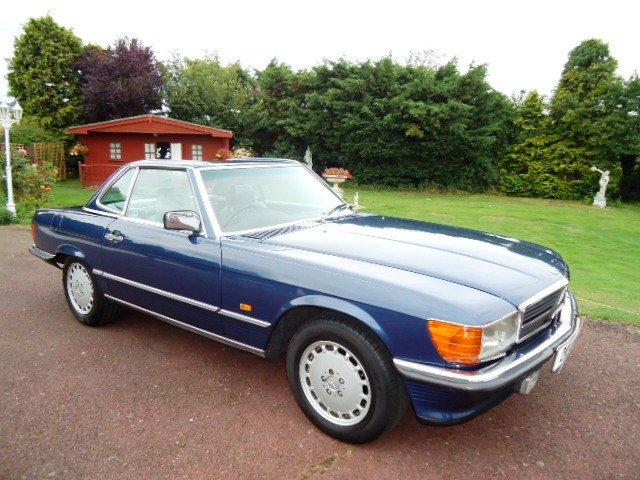 1987 Mercedes sports 420SL  £38,750 For Sale (picture 1 of 6)