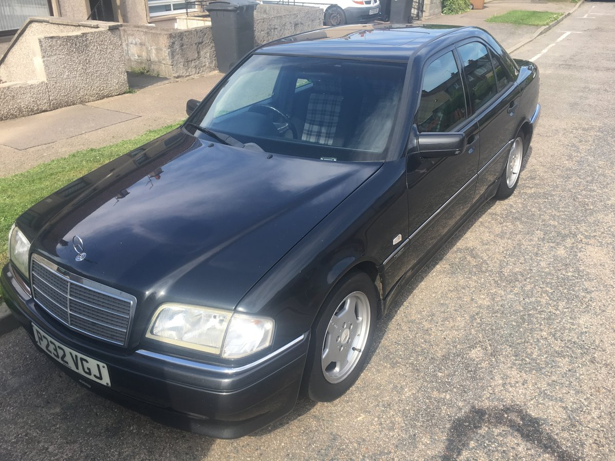 1997 Mercedes C230 w202 sportline For Sale (picture 1 of 4)