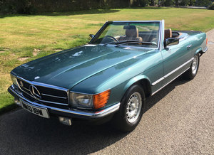 1980 Mercedes Benz 500 SL For Sale