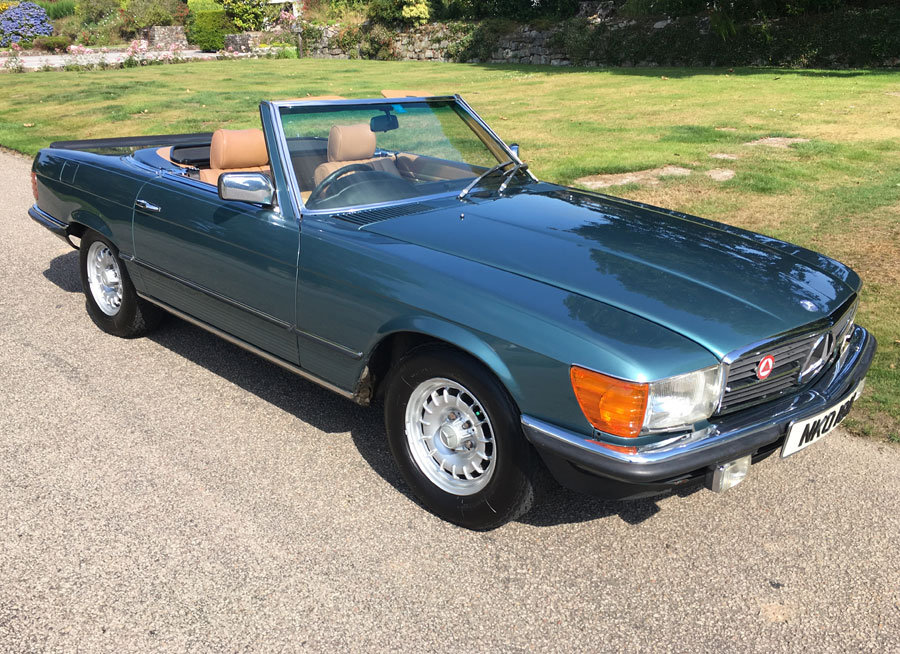 1980 Mercedes Benz 500 SL For Sale (picture 5 of 6)