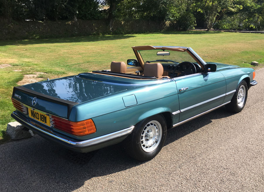 1980 Mercedes Benz 500 SL For Sale (picture 6 of 6)