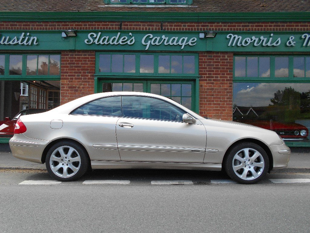 2002 Mercedes CLK 500 Elegance Coupe  SOLD (picture 1 of 4)