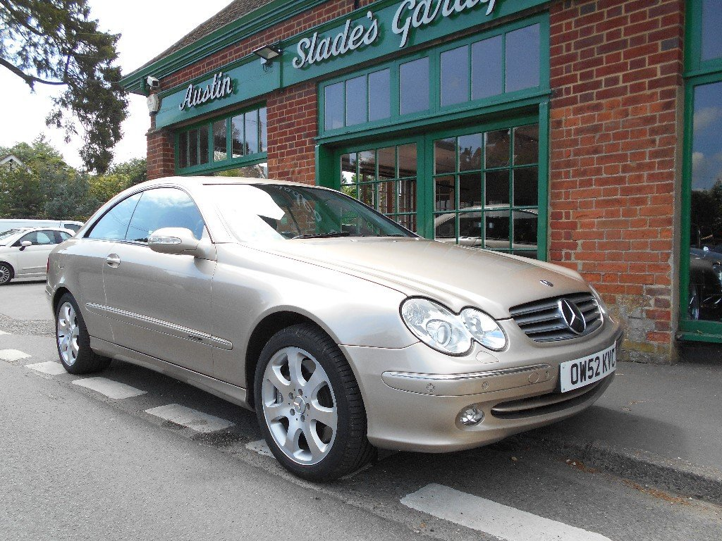 2002 Mercedes CLK 500 Elegance Coupe  SOLD (picture 2 of 4)