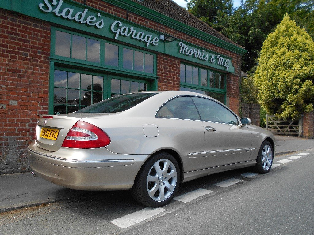 2002 Mercedes CLK 500 Elegance Coupe  SOLD (picture 3 of 4)
