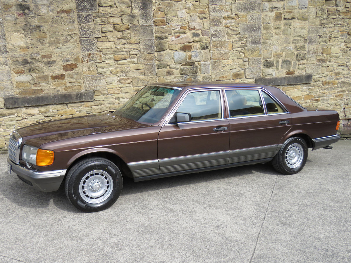 1981 Mercedes W126 500SEL - 1 P/Onr - 63K Miles - FMBSH 36 Stamps For Sale (picture 2 of 6)