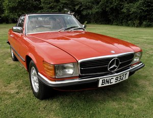 1978 Mercedes 350SL SL R107 fully restored rhd For Sale