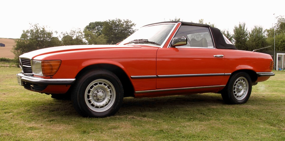 1978 Mercedes 350sl r107 fully restored rhd For Sale | Car