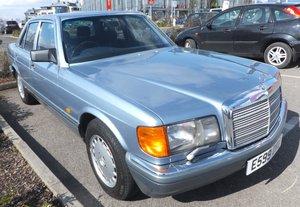 1988 Mercedes 300SE W126 stunning example