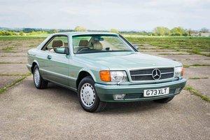 1989 Mercedes-Benz W126 420SEC - 53K Miles - FSH - 1 Owner SOLD