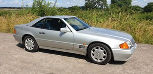 1993 Mercedes Benz SL 320. 57,000 Miles. 2 Owners. FSH.