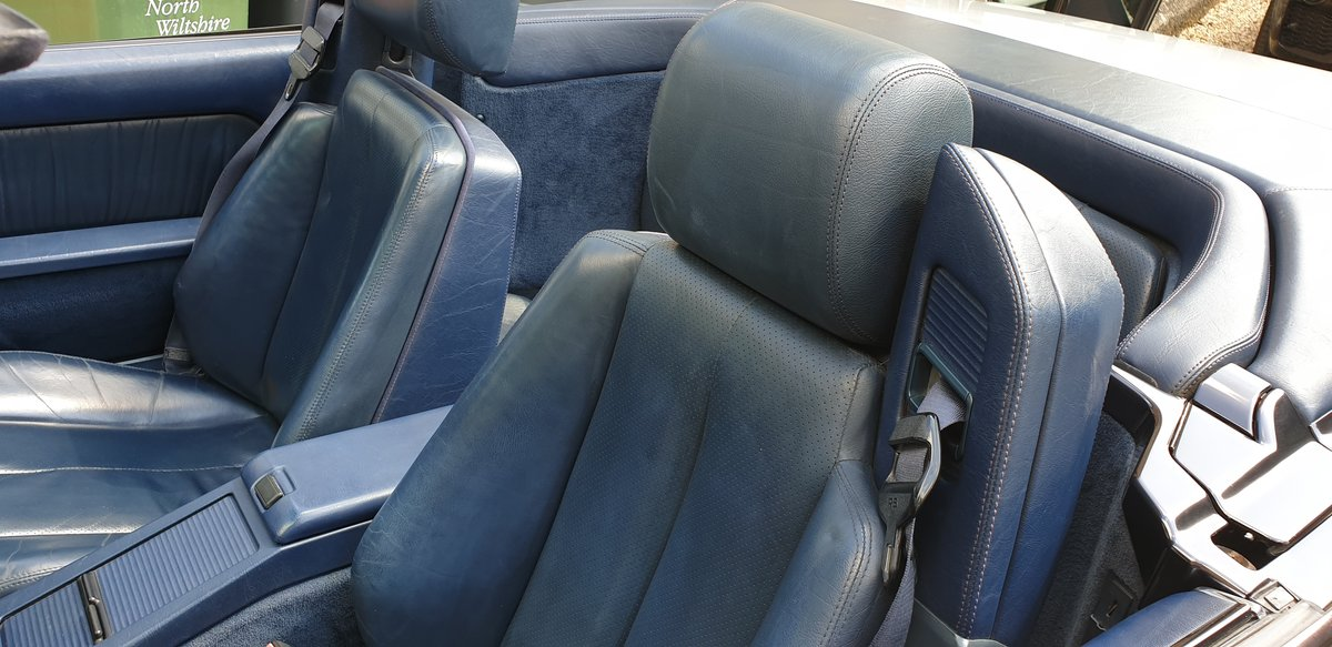 1993 Mercedes Benz SL 320. 57,000 Miles. 2 Owners. FSH. For Sale (picture 6 of 6)
