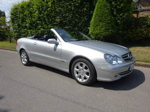 2003 MERCEDES-BENZ CLK 320 ELEGANCE CABRIOLET For Sale