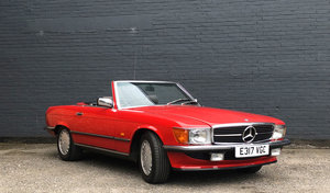 1987 Immaculate Mercedes 300SL R107 56,870 miles  For Sale