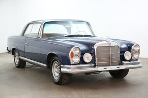 1966 Mercedes-Benz 220SE Sunroof Coupe For Sale