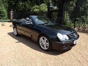 2009 MERCEDES CLK350 AVANTGARDE CONVERTIBLE For Sale