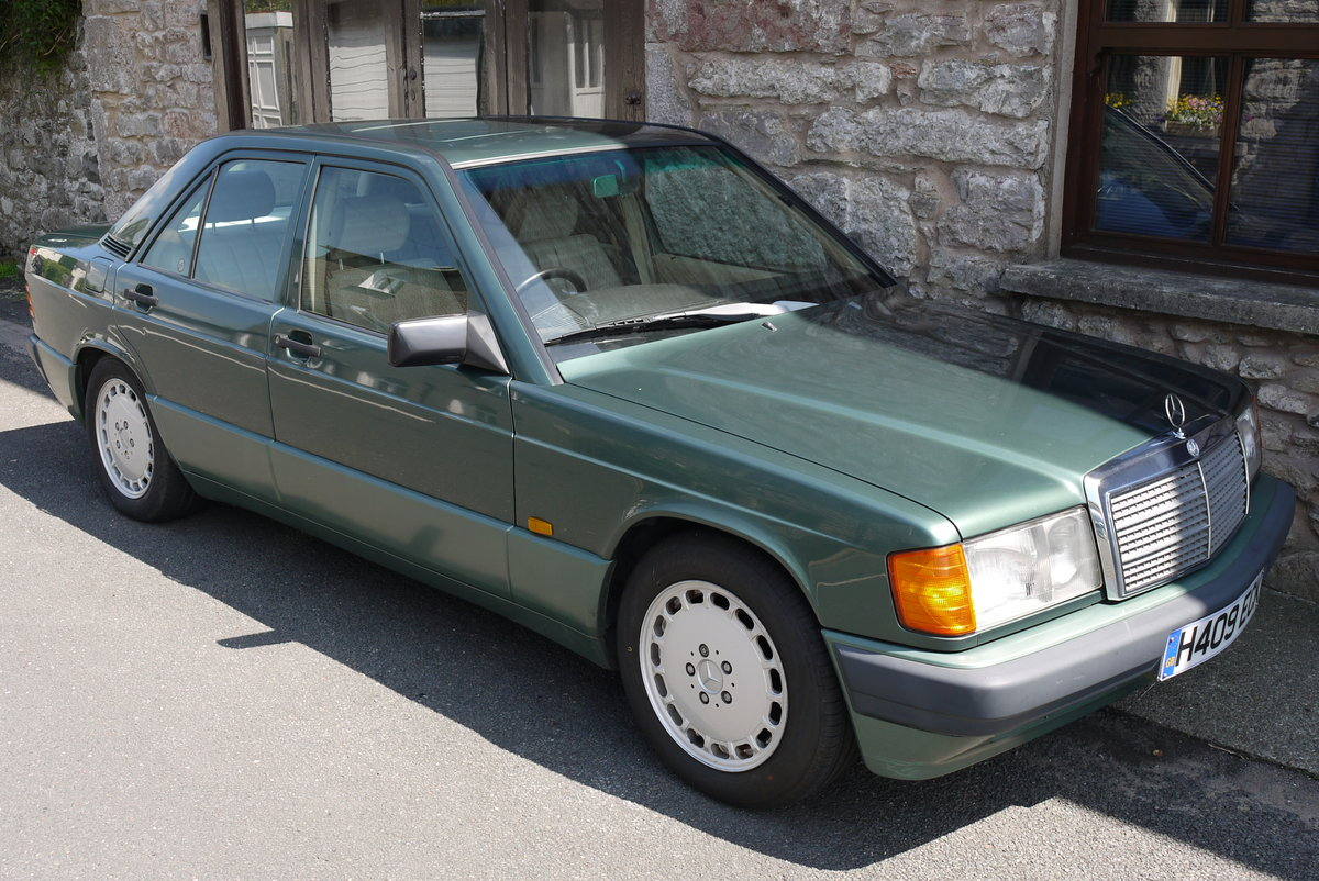 1991 Mercedes 190E, owned since 2012, only 97000 miles For Sale (picture 1 of 6)