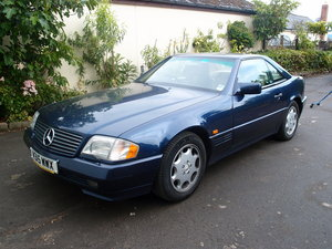 1995 Genuine Mercedes SL 500 SOLD