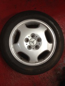 1998 MERCEDES BENZ MERAK ALLOYS AND TYRES W208 16 A2084010102  For Sale
