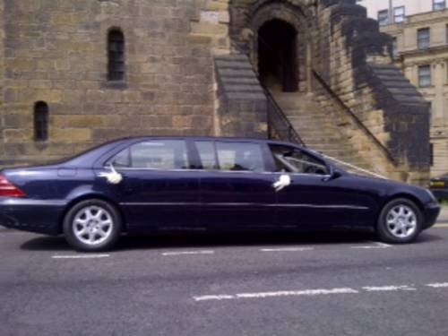 2002 Mercedes S Class 500 limo, For Sale (picture 1 of 6)