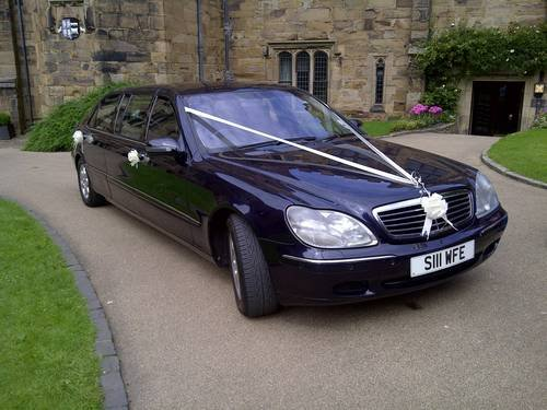 2002 Mercedes S Class 500 limo, For Sale (picture 2 of 6)