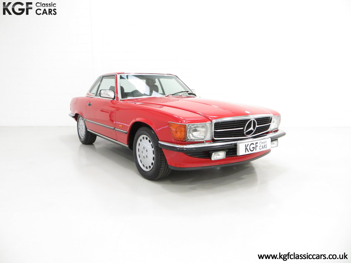1986 A Multiple Concours d'Elegance Winning Mercedes-Benz 420SL For Sale (picture 1 of 6)