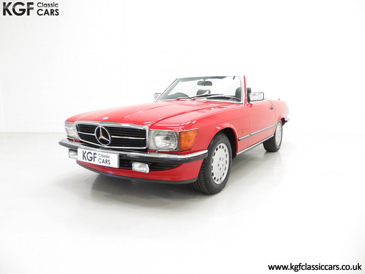 1986 A Multiple Concours d'Elegance Winning Mercedes-Benz 420SL SOLD (picture 2 of 6)