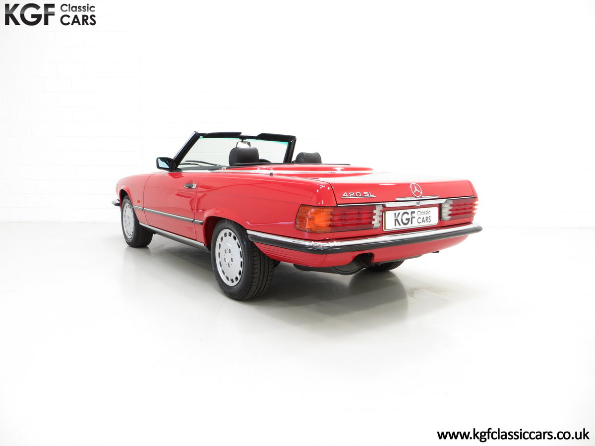 1986 A Multiple Concours d'Elegance Winning Mercedes-Benz 420SL SOLD (picture 4 of 6)