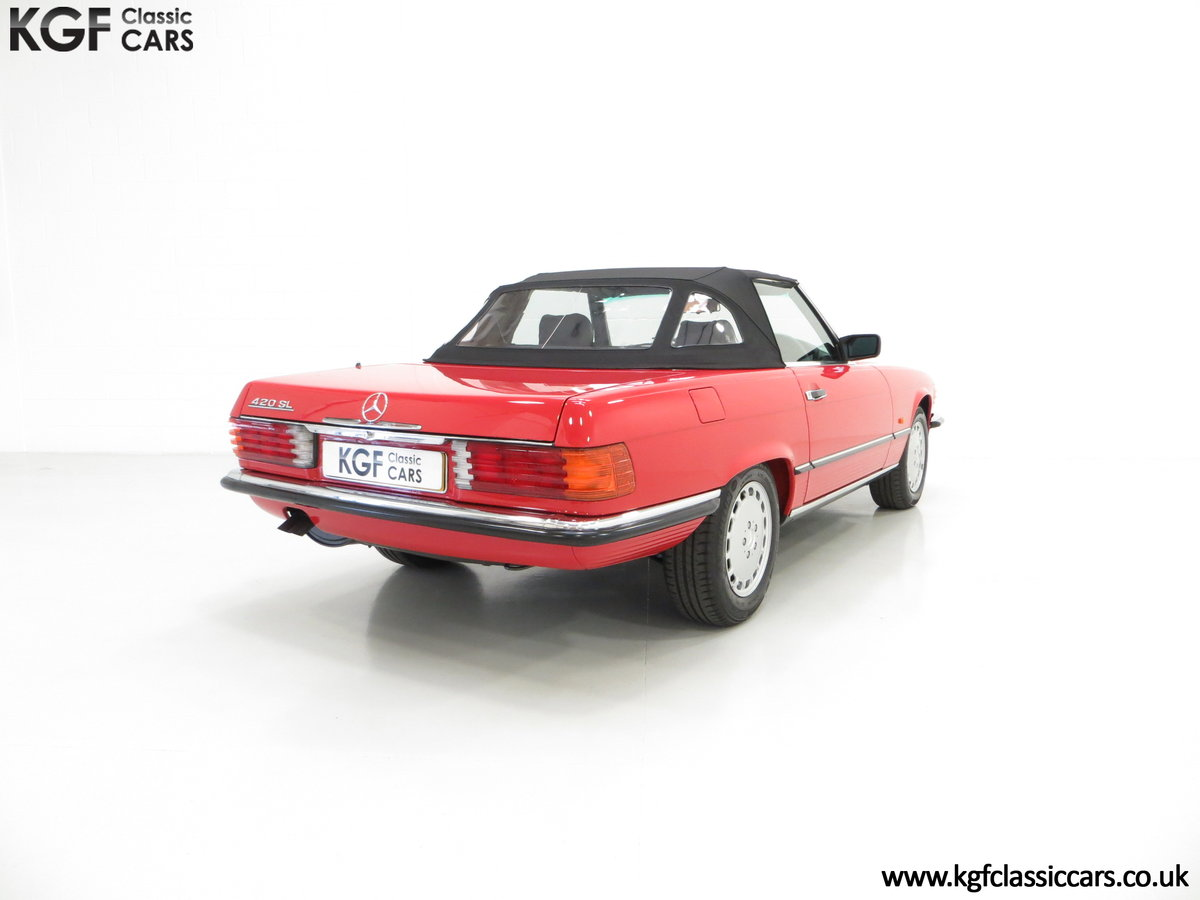 1986 A Multiple Concours d'Elegance Winning Mercedes-Benz 420SL SOLD (picture 5 of 6)